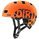 Uvex Unisex Jugend, Kid 3 cc Fahrradhelm, Dirtbike Orange Mat 55-58cm