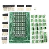 ZLDDE Duradero 1 Set MEGA-2560 PCB Prototipo Tornillo Terminal Terminal Terminal Bloque Shield MÓDULO Bloque DE Bloqueo Black Kit BOICKOUT para proyectos de electrónica, (Color : Green)