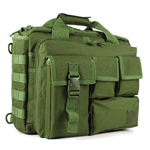 Tactical Briefcase, 15.6' Men's Messenger Bag Military Briefcase for Men