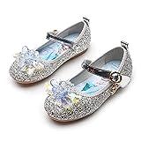 YOSICIL Zapatos de la Princesa Zapatos Decoración Cristales Zapatos de Baile Zapatos de Boda Crystal Zapatos de Fiesta de Carnaval Halloween Cumpleaños