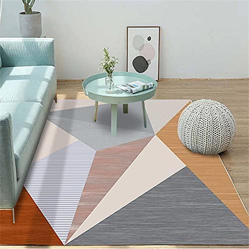 Alfonbras De Salon Grandes Alfombra Infantil Grande La alfombra geométrica, el tamaño de la alfombra antiincrustante y la alfombra decorativa antideslizante se puede personalizar Alfombras Lavables Sa