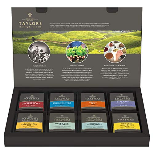 Taylors of Harrogate Assorted Speciality Teas Selection Box 108 g (48 tea bags in total)