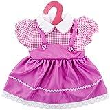 ZOEON Vestiti per Bambole per New Born Baby Doll, Abito per 17-18 'Girl Bambolotti (40-45 cm)