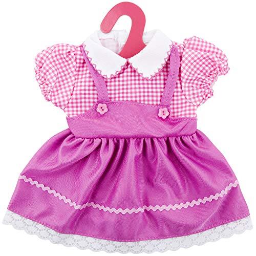 ZOEON Ropa de Muñecas para New Born Baby Doll, Vestido para Muñecas 35-43 cm