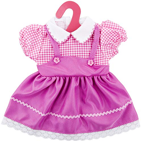 ZOEON Ropa de Muñecas para New Born Baby Doll, Vestido para 17-18 'Girl Muñecas (40-45 cm)