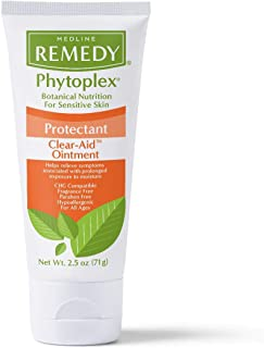 Medline Phytoplex Clear-Aid Skin Protectant Ointment, For Cracked Skin, Minor Cuts, Burns, 2.5 Ounce.