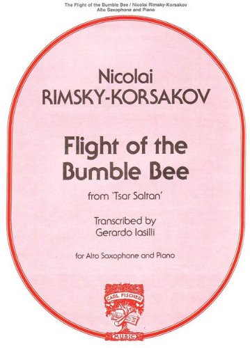 HUMMELFLUG - FLIGHT OF THE BUMBLE BEE - arrangiert für Altsaxophon - Klavier [Noten / Sheetmusic] Komponist: RIMSKY KORSAKOFF NIKOLAI