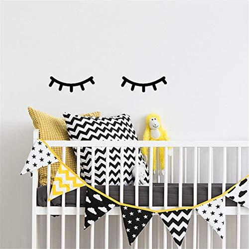 Wandtattoo Wohnzimmer Wandaufkleber Schlafzimmer Schöne Wimpern Wimpern Mädchen Kinder Zilien
