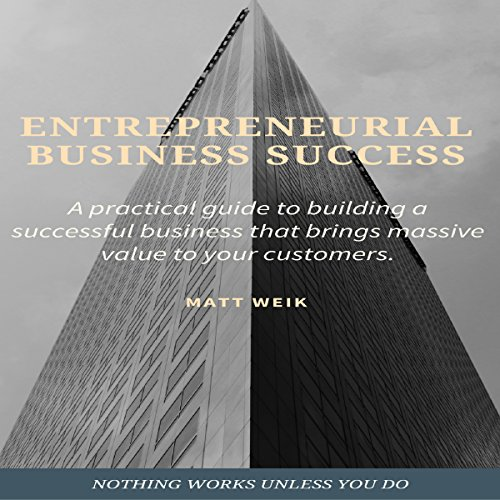 Entrepreneurial Business Success: A practical guide to building a successful business that brings massive value to your customers. audiobook cover art
