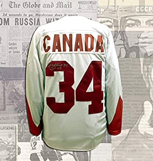 Marcel Dionne Team Canada 1972 Summit Series Autographed Jersey