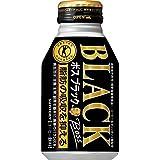 [トクホ]サントリー コーヒー ボス ブラック 280mlボトル缶×24本