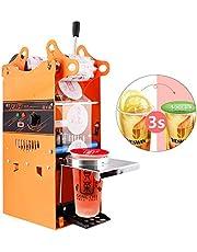 YJINGRUI Beker Sluitmachine Commerciële Handmatige Bubble Tea Cup Sealer voor 90/95/70/75 mm Diameter Cup 300-500 Cups/uur (sluitmachine)
