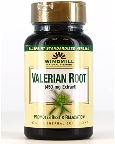 wholesale Windmill Herbals Valerian Root 450 Large discharge sale mg Packs Buy - 60 Capsules CP