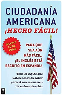 By Raquel Roque Ciudadania Americana ?­Hecho f?­cil! con CD (United States Citizenship Test Guide with CD) (Hecho fa (Pap/Com Bl) [Paperback]