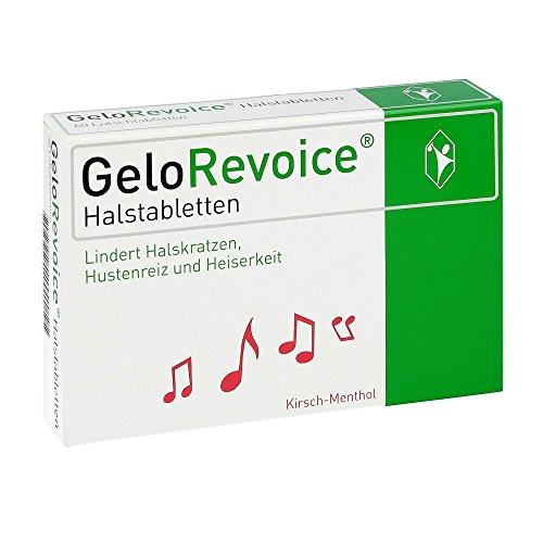 GeloRevoice Halstabletten Kirsch-Menthol, 60 St. Tabletten