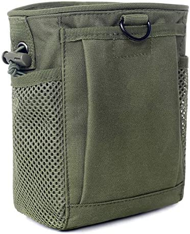 Tactical Molle Drawstring Magazine Dump Pouch Adjustable Military Utility Belt Fanny Hip Holster product image