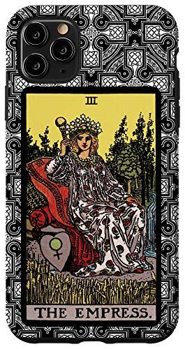 iPhone 11 Pro Max Tarot Card The Empress Celtic Cross for Tarot Card Reader Case