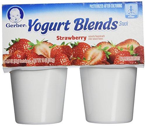 Gerber Yogurt Blend, Strawberry, 16 oz