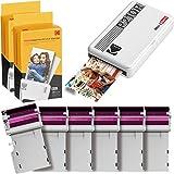 Kodak Mini 2 Retro Impresora Fotográfica Instantánea Portátil Retro, Conexión Inalámbrica,...