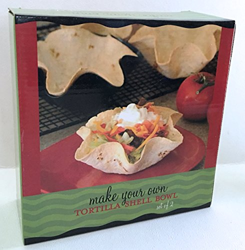 NonStick Tortilla Taco Salad Shell Baking Pan Set