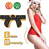 WARDBES Hips Electrostimulateurs fessier,EMS Hanches Trainer,Intelligent Portable Massage pour Aider à Façonner Le Muscle et à Sculpter Les Courbes et Raffermir Les Fesses Femme Homme,Home Trainer