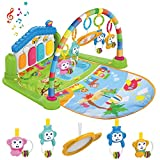 WANJING Baby Play Mat Musical Activity Gym Kick and Play Piano Newborn Mat