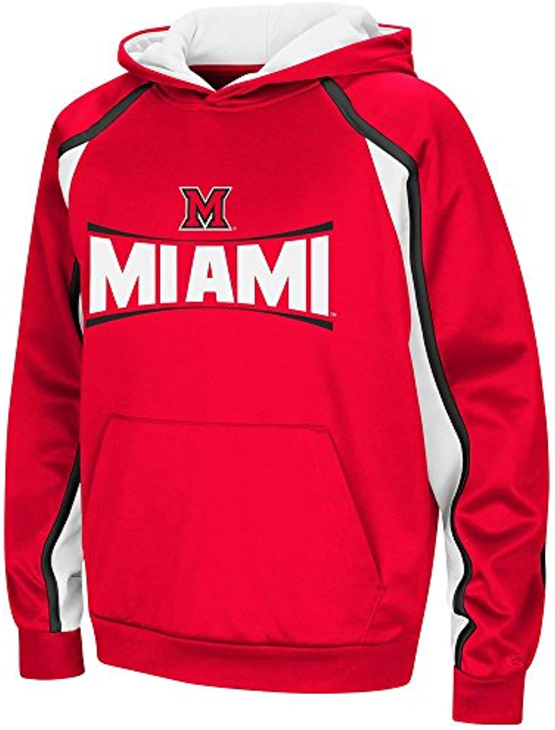 Colosseum Youth Miami Redhawks Pull-Over Hoodie