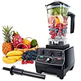 Blender Professional Countertop Blender, 2000W High Speed Smoothie Blender/Mixer for Shakes and...