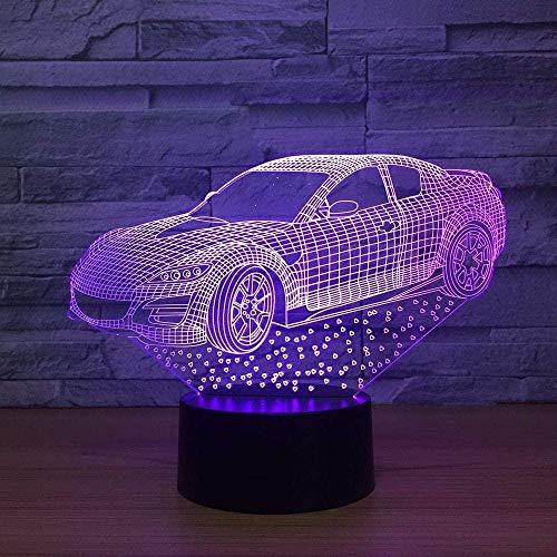 Boutiquespace Nachtlicht Thor Hammer Held führte 3D-Lampe für Kinder Rächer Wunder Legende Tischlampe für Kinderzimmer Geburtstagsgeschenk (Thor Hammer)