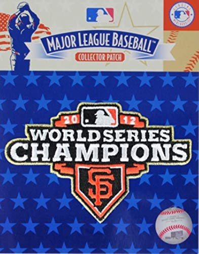 Emblem Source Giants 2012 World Series Gold Trim Champions Logo Jersey Sleeve Patch