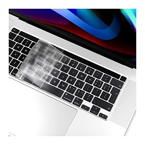 Película protectora para teclado Tipo EU / UK / US TPU Claro cubierta del teclado for Macbook Pro 13 2020 más nuevo A2251 A2289 Pro de 16 pulgadas de la piel del teclado 2019 A2141Touch Bar Protector