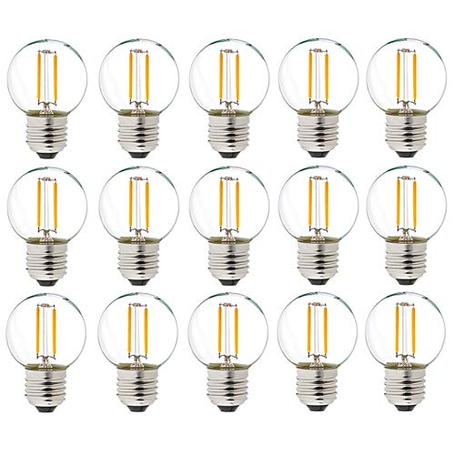 GHC LED Bombillas, Bombillas de bajo voltaje de 12V Edison Retro Reemplazar...