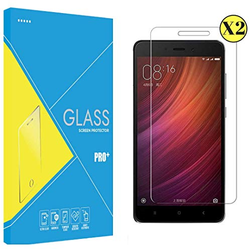PHONILLICO [2 Unidades] Vidrio Templado Xiaomi REDMI