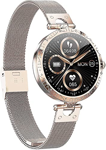 l b s Reloj inteligente con pantalla táctil completa para hombres y mujeres, niños, reloj de fitness con monitor de frecuencia cardíaca, oxígeno en sangre y monitor de sueño