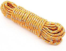 Clothes Nylon Braided Cotton Rope, 20 m (Multicolour)
