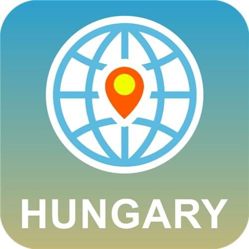Hungría Mapa Desconectado