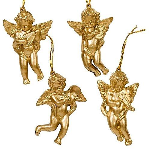 SSITG Gouden engel kerstballen kerstboom boomversiering kerstdecoratie