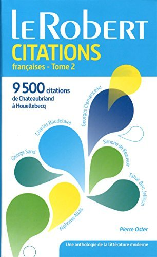 Dictionnaire de citations françaises