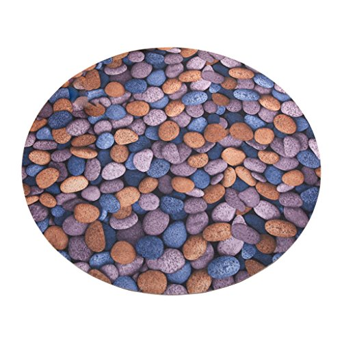 #Woonkamer tapijt rond bereik tapijt, kopsteen rond tapijt deurmatten mand schommelstoel matten kruk tafel matten matten matten matten (kleur: A, grootte: Round-60)