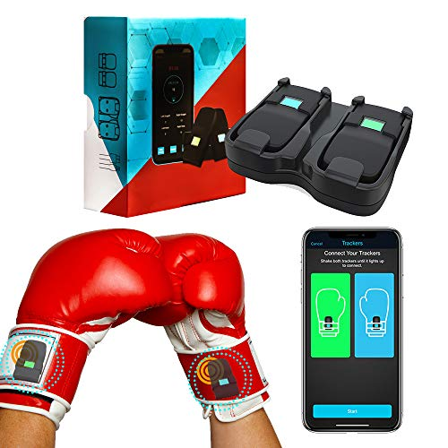 [2021 Upgrate] Boxing Tracker, Boxing Equipment Boxing Sensor, Highly Sensitive Sensor for Boxing Practice Detect Boxing Times and Speed,View Historical Data