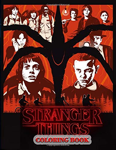 Stranger Things Coloring Book: 8.5 x 11 Size Amazing Colorin