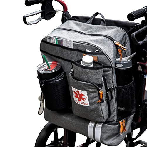 Scooter - Wheelchair Backpack Bag with Cup Holder