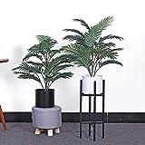 UNIVIEW 70CM Künstliche Palm Pflanzen, Seide Blätter Künstliche Baum Kunststoff Vorbauten Tropical gefälschte Pflanzen Hausgarten-Dekor Kein Topf (Size : 1 Plant no Pot)