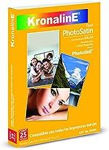 Papel Fotográfico Satin 260 gr (Paquete Con 25 Hojas Tamañ