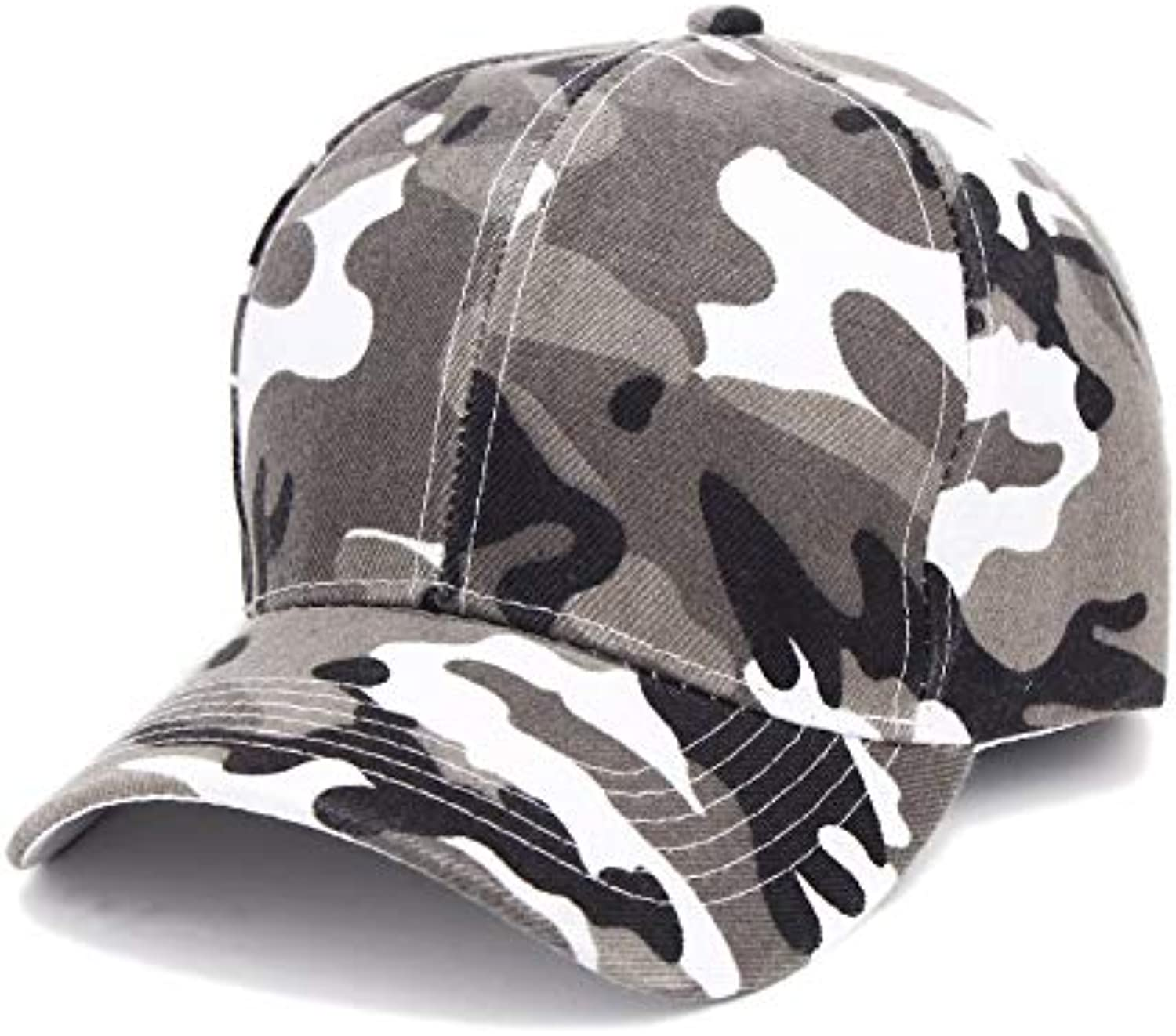 Chlally Casual Cotton Neutral Camouflage hat Fashion Male and Female Baseball Cap Hip hop hat Adjustable Sun hat