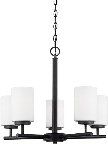 2021 Sea Gull Lighting 31161-839 Oslo Chandelier lowest Hanging Modern Fixture, Five - Light, wholesale Blacksmith outlet online sale