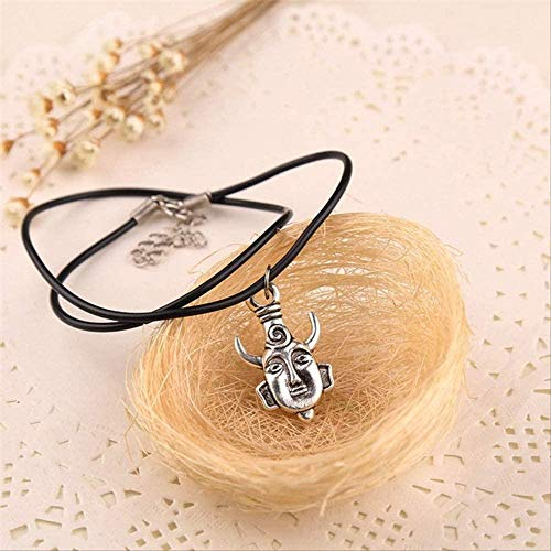 huangxuanchen co.,ltd Necklace Necklace Dean Amulet Bull Horn Pagan Buddha Pendant Jewelry SPN