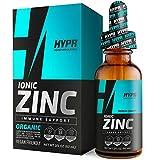 Zinc Supplement Liquid Drops Best Advanced Nano Zinc Liquid Vitamin Supplement for Immune Support + Energy. High Bioavailability Triple Distilled and Nanotized for Men and Women