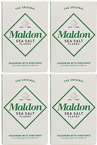 Maldon Salz, Meersalz, 125 g, 4 Stück
