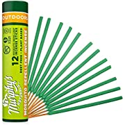 Murphy's Naturals Mosquito Repellent Incense Sticks | DEET Free with Plant Based Essential Oils | 2.5 Hour Protection | 12 Sticks per Tube